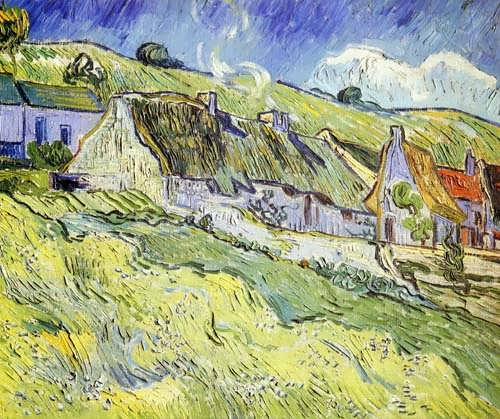 Gogh-AGroupofCottages