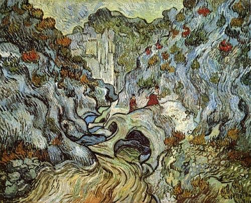 Gogh-APaththroughaRavine