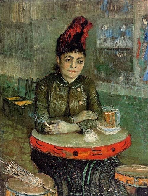 Gogh-AgostinaSagatoriSittingintheCafeduTambourin