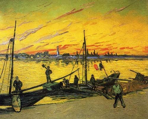 Gogh-CoalBarges