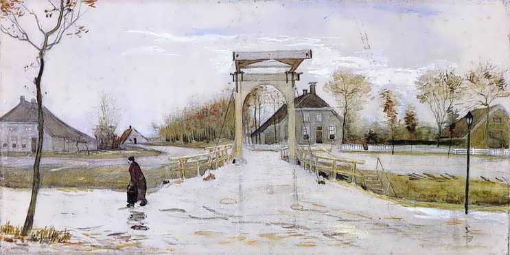 Gogh-DrawbridgeinNieuw-Amsterdam