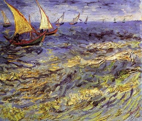 Gogh-FishingBoatsatSeaakaSeascapeatSaintes-Maries