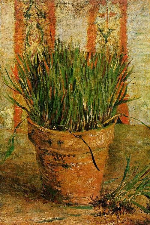 Gogh-FlowerpotwithChives