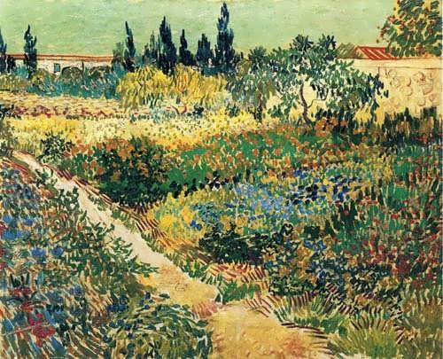 Gogh-GardenwithFlowers