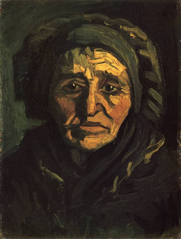 Gogh-HeadofaPeasantWomanwithaGreenishLaceCap1