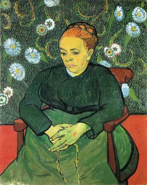 Gogh-LaBerceusePortraitofMadameRoulin