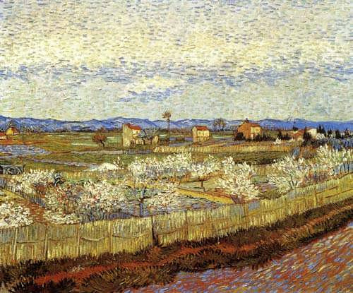 Gogh-LaCrauwithPeachTreesinBloom