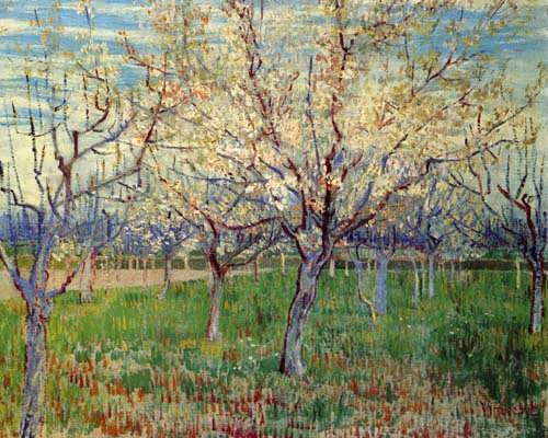 Gogh-OrchardwithBlossomingApricotTrees