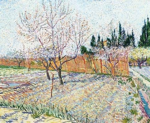 Gogh-OrchardwithPeachTreesinBlossom