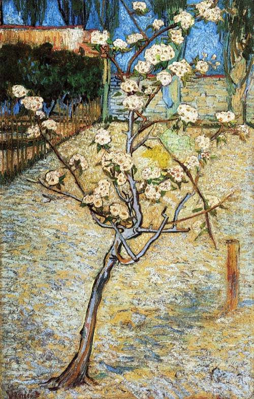 Gogh-PearTreeinBlossom