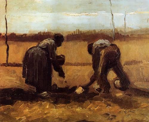 Gogh-PeasantManandWomanPlantingPotatoes