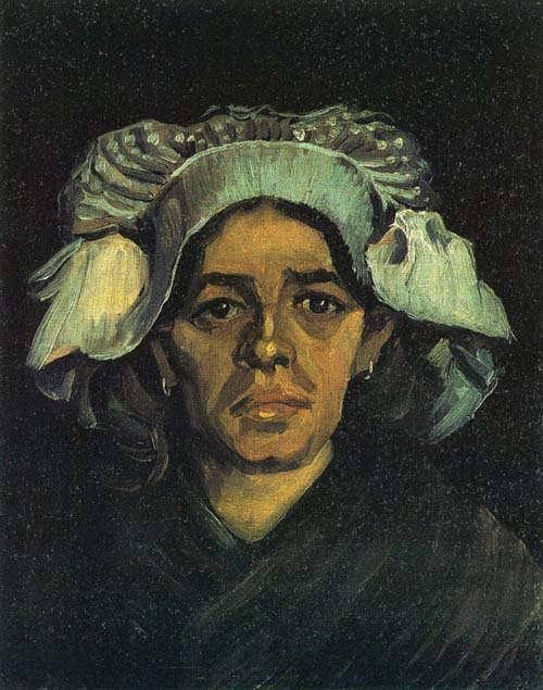 Gogh-PeasantWomanPortraitofGordinadeGroot