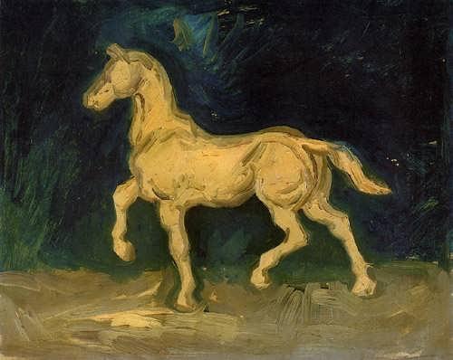 Gogh-PlasterStatuetteofaHorse