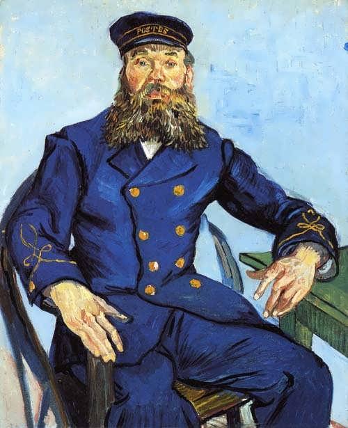 Gogh-PortraitofJosephRoulin1