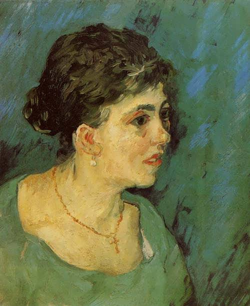 Gogh-PortraitofaWomaninBlue