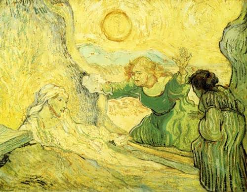 Gogh-RaisingofLazarusafterRembrant
