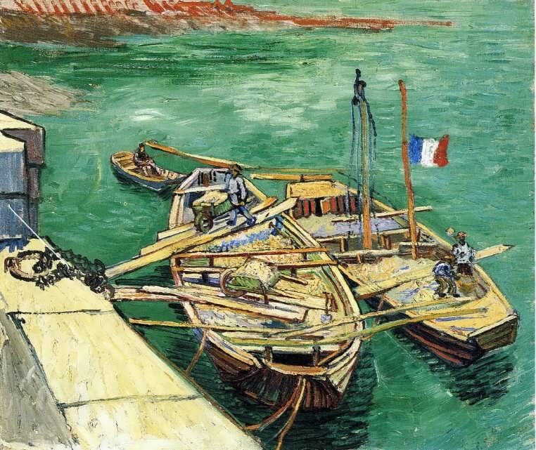 Gogh-SandBarges