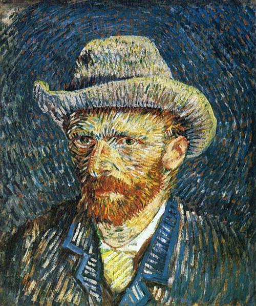 Gogh-SelfPortraitwithFeltHat