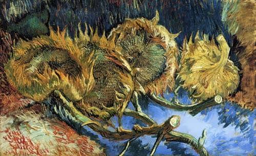 Gogh-StillLifewithFourSunflowers