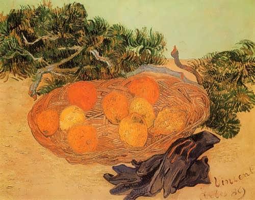 Gogh-StillLifewithOrangesandLemonswithBlueGloves