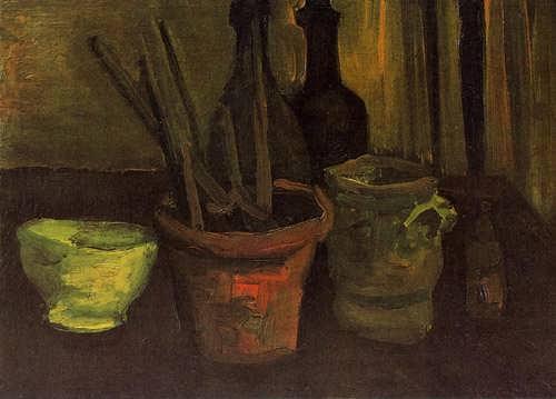 Gogh-StillLifewithPaintbrushesinaPot