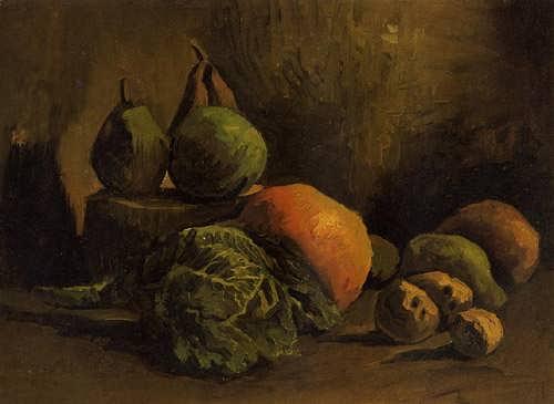 Gogh-StillLifewithVegetablesandFruit