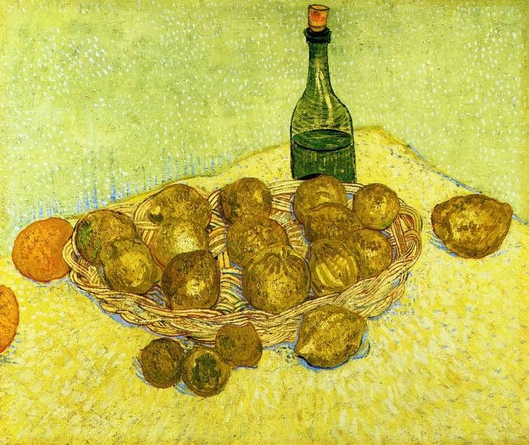 Gogh-StillLifewithaBottleLemonsandOranges