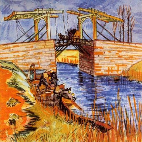 Gogh-TheLangloisBridgeatArles