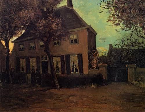 Gogh-TheParsonageatNuenen
