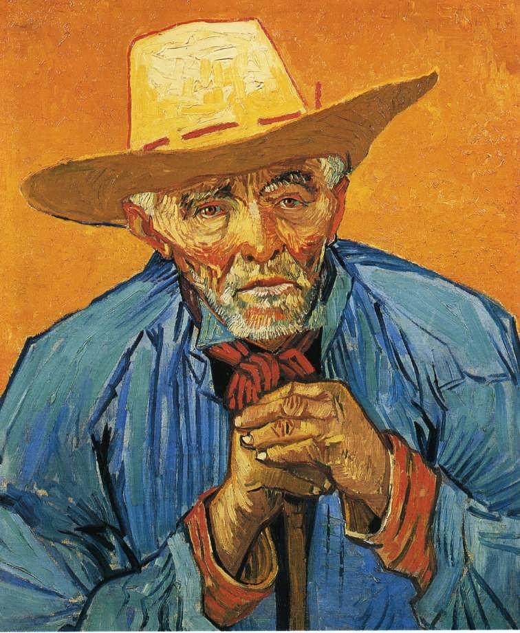 Gogh-ThePeasantPortraitofPatienceEscalier
