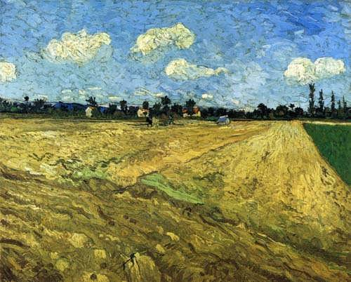 Gogh-ThePloughedField