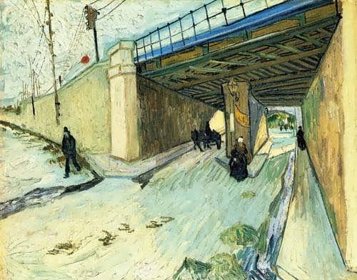 Gogh-TheRailwayBridgeoverAvenueMontmajour