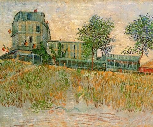 Gogh-TheRestaurantdelaSireneatAsnieres