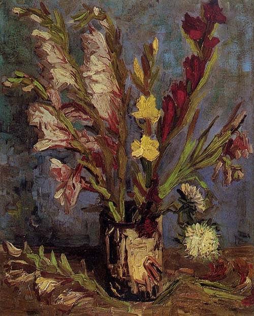 Gogh-VasewithGladioli