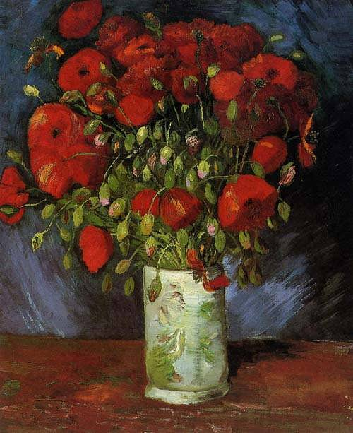 Gogh-VasewithRedPoppies