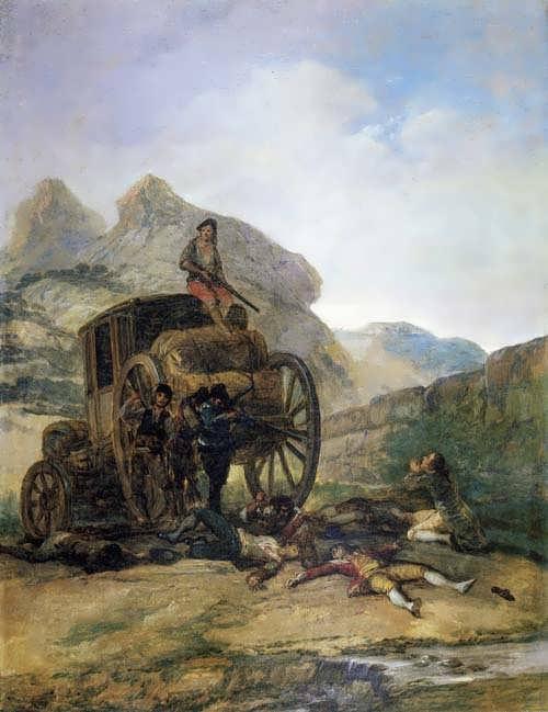 Goya-AttackonaCoach