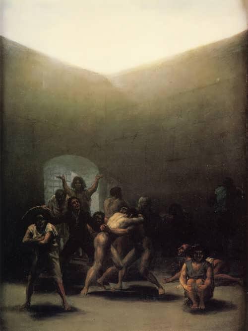 Goya-CourtyardwithLunatics
