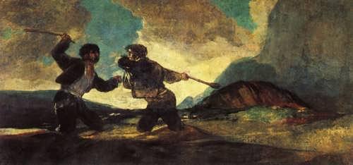 Goya-DuelwithCudgels