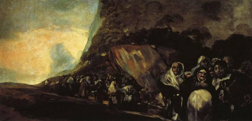 Goya-PromenadeoftheHolyOffice