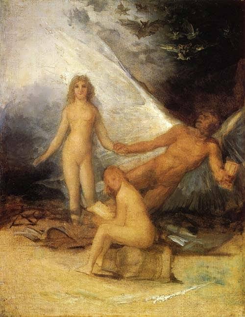 Goya-SketchforTruthRescuedbyTimeWitnessedbyHistory