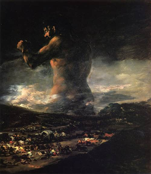 Goya-TheColossus
