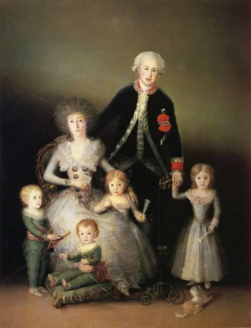 Goya-TheFamilyoftheDuquesdeOsuna