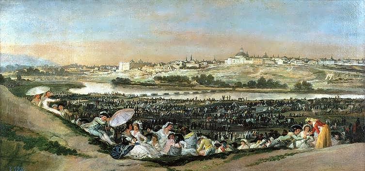 Goya-TheMeadowofSanIsidro