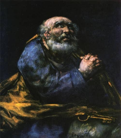 Goya-TheRepentantSaintPeter
