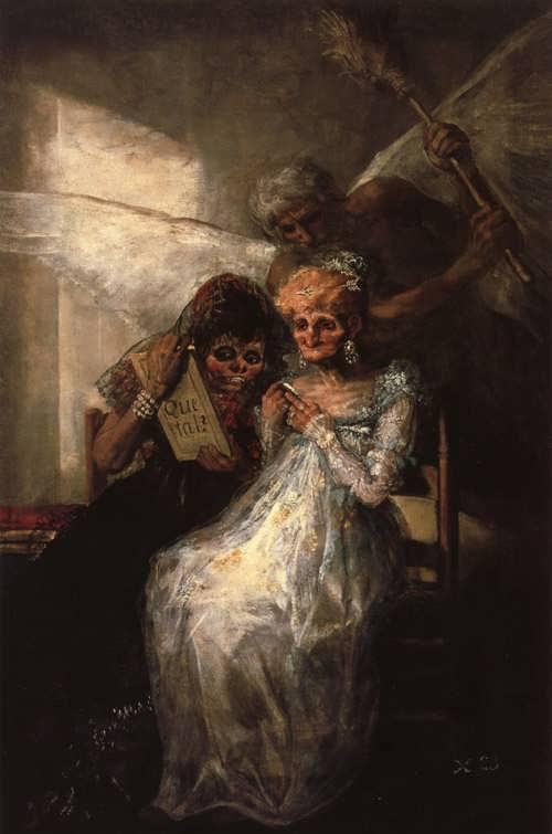 Goya-TimeandtheOldWomen