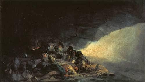 Goya-VagabondsRestinginaCave