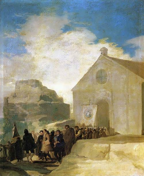 Goya-VillageProcession