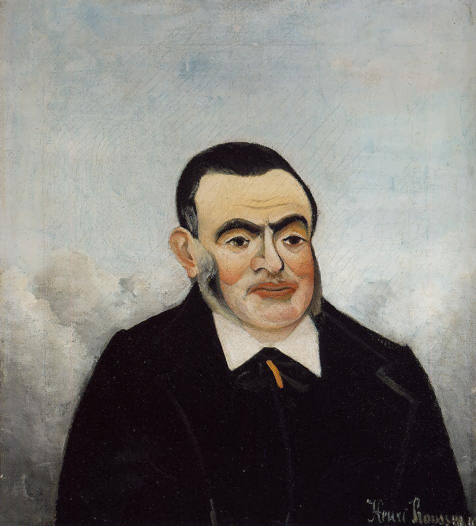 HenriRousseau-PortraitofaMan1