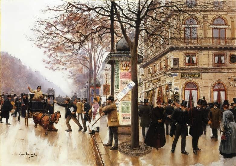 Jean-GeorgesBeraud-StreetScene