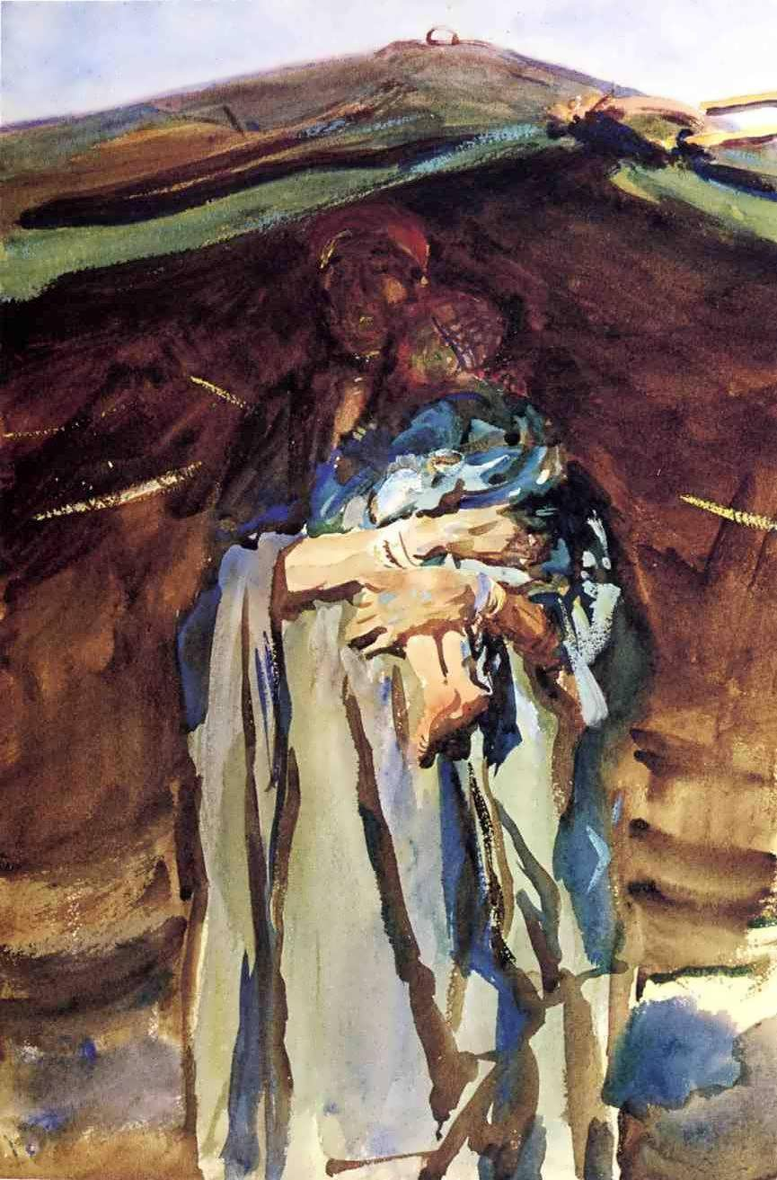 JohnSingerSargent-BedouinMother1